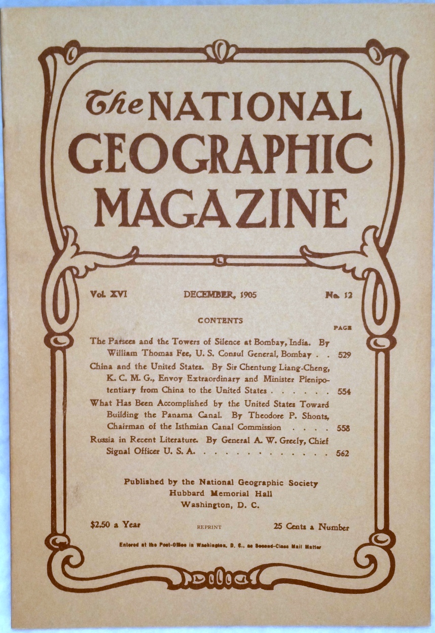 Image for The National Geographic Magazine, Vol.  XVI. No. 12, December, 1905 [Facsimile Reprint]