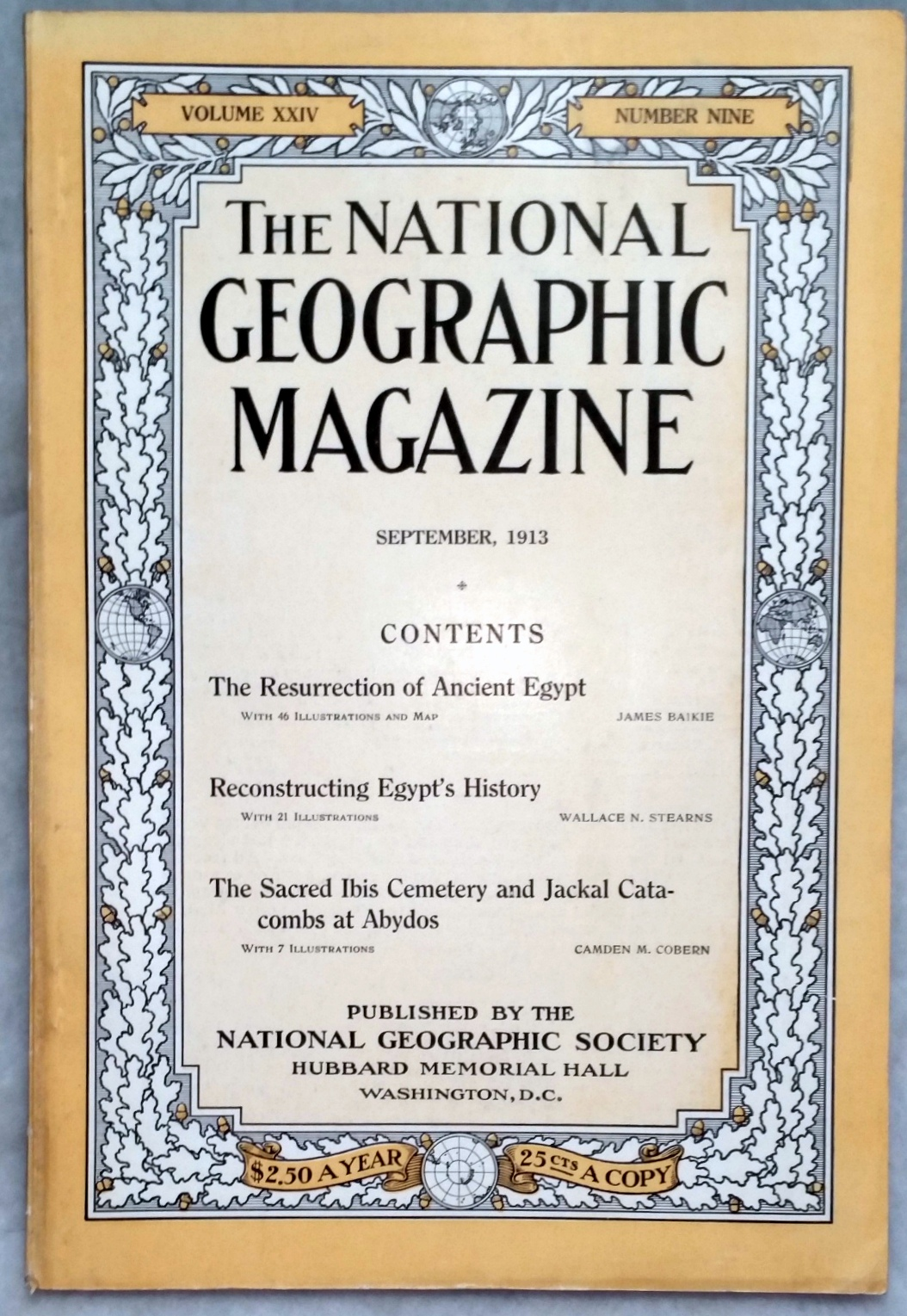 Image for The National Geographic Magazine, Volume XXIV, Number Nine [9], September, 1913