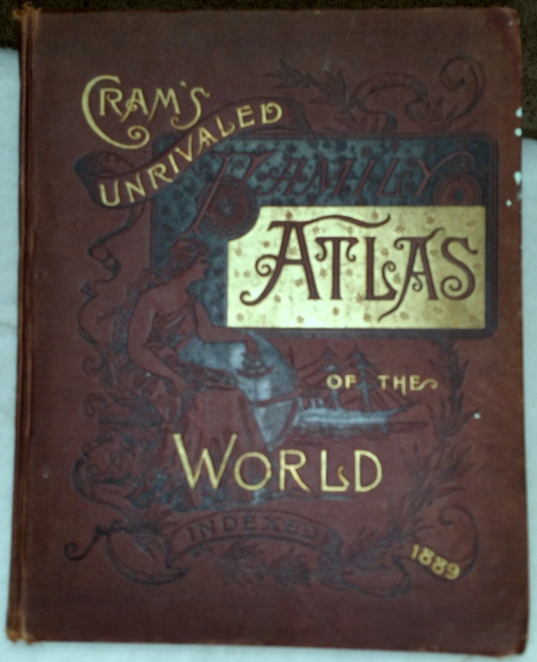 Image for Cram's Unrivaled Atlas of the World