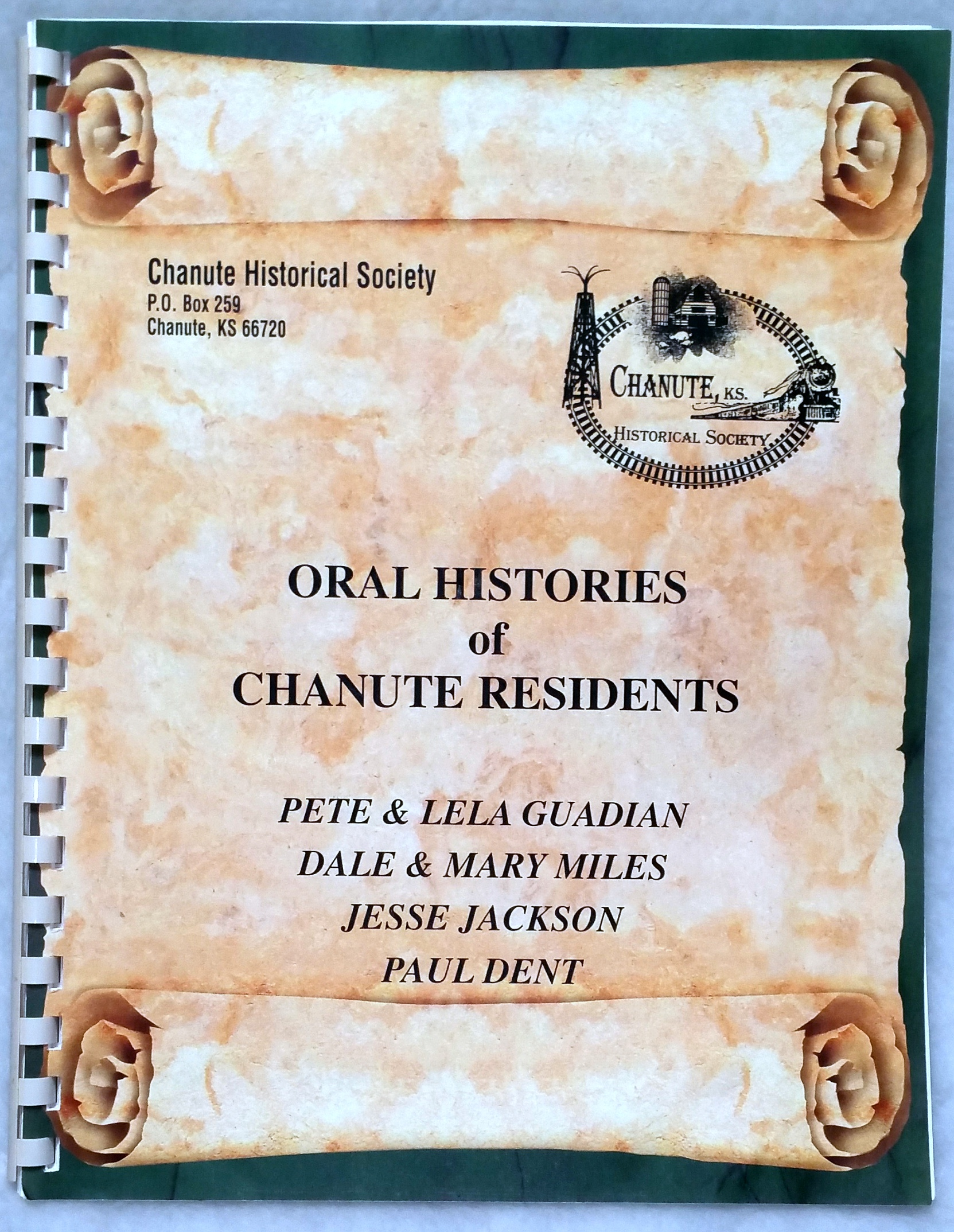 Image for Oral Histories of Chanute Residents: Pete & Lela Guadian; Dale & Mary Miles; Jesse Jackson; Paul Dent