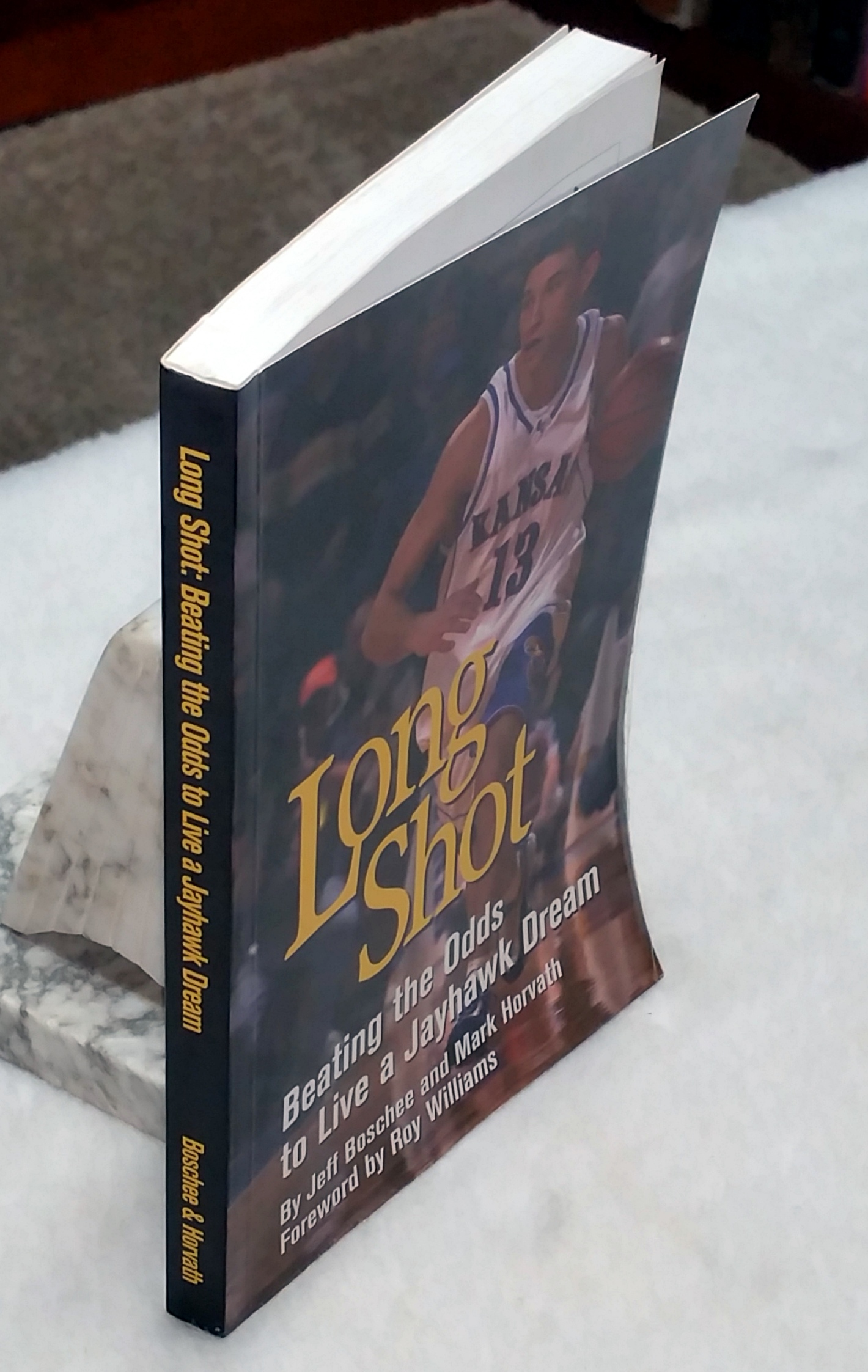 Image for Long Shot:  Beating the Odds to Live a Jayhawk Dream