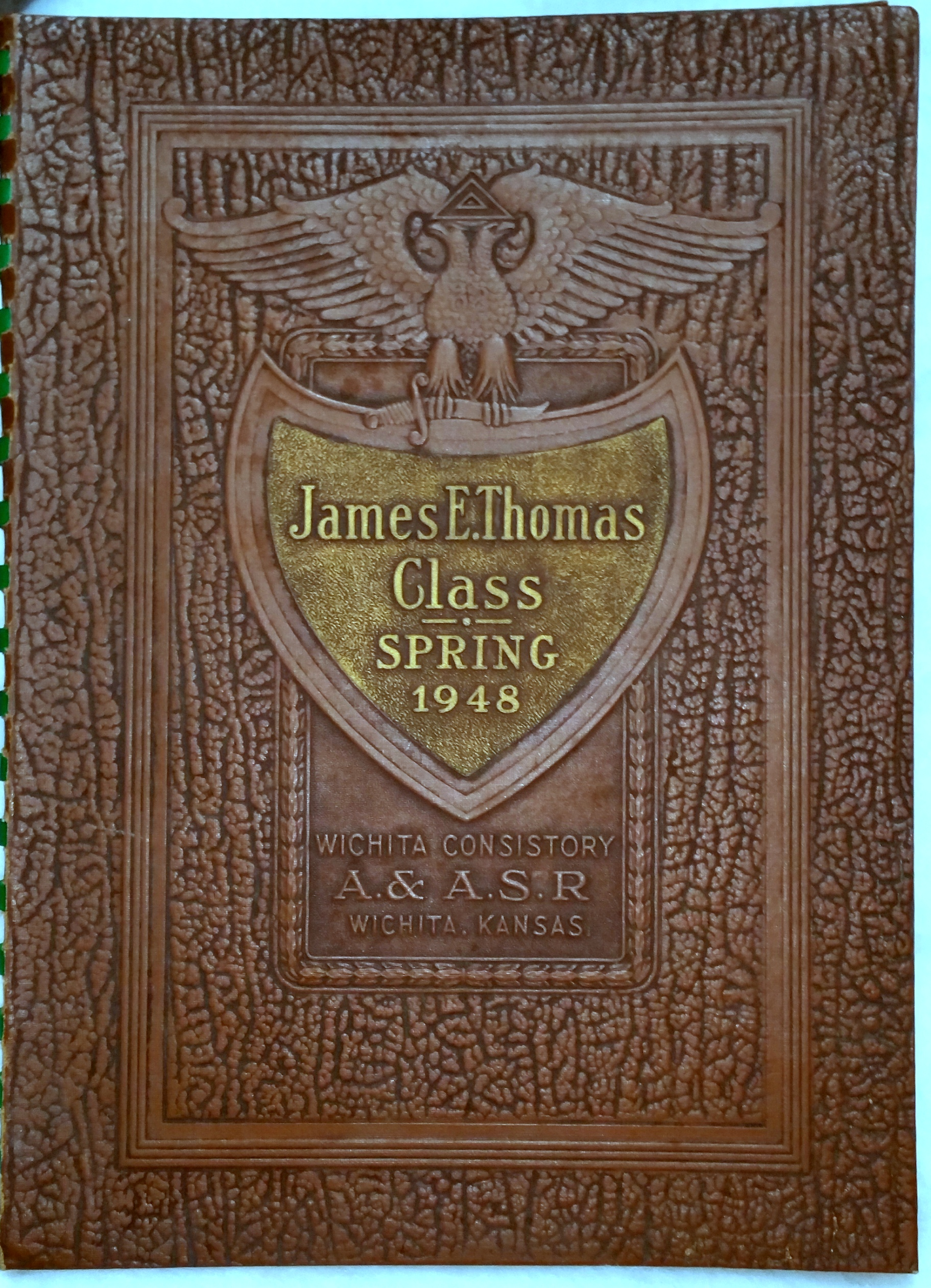 Image for James E. Thomas Class, Advanced Spring Class 1948, Ancient and Accepted Scottish Rite