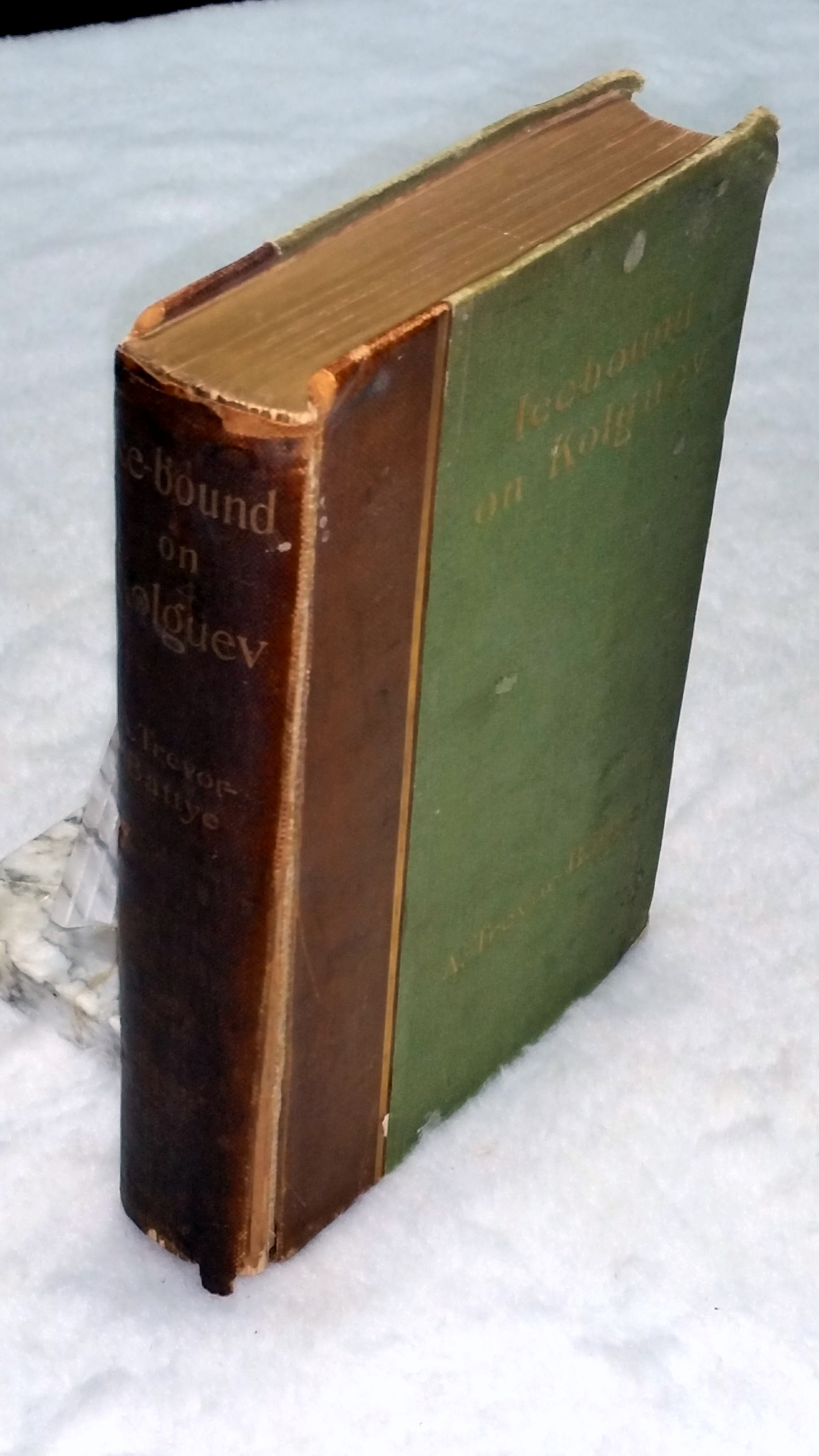 Image for Ice-Bound on Kolguev:  A Chapter In the Exploration of Arctic Europe to Which is added a Record of the Natural History of the Island