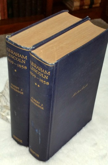 Image for Abraham Lincoln, 1809-1858 (Two Volumes)