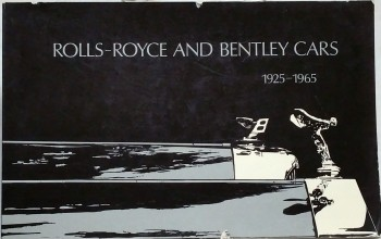 Image for A Brief Guide to Rolls-Royce & Bentley Motor Cars 1925-1965