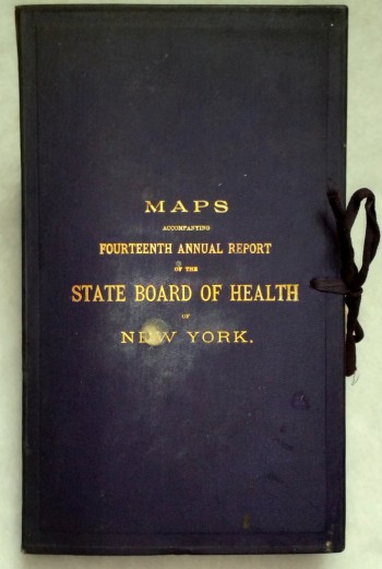 Image for Maps Accompanying Fourteenth Annual Report of the State Board of Health of New York