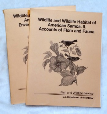 Image for Wildlife and Wildlife Habitat of American Samoa, I; Environment and Ecology, II: Accounts of Flora and Fauna (two volumes)