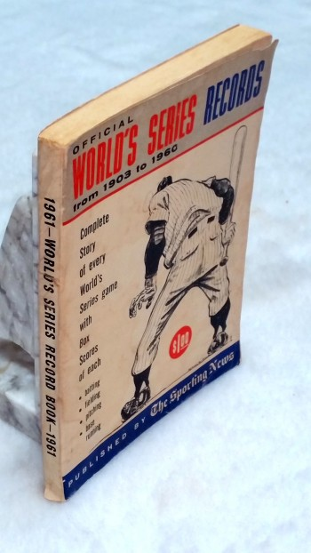 Image for Official World's Series Records: Complete Box Scores of All Games, 1903-1960
