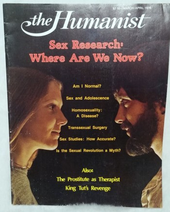 Image for The Humanist, Volume XXXVIII, No. 2, March/April 1978 Sex Research: Where Are We Now?