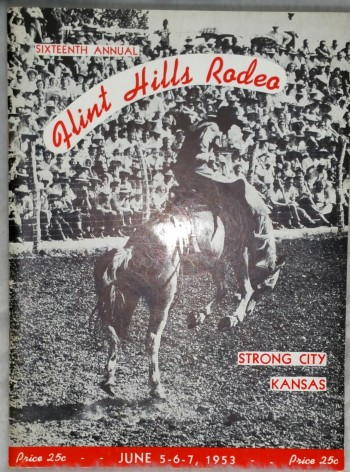 Image for Sixteenth Annual Flint Hills Rodeo, Strong City, Kansas