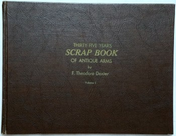 Image for Thirty-five Years Scrapbook of Antique Arms, Volume I