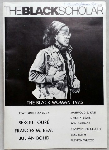 Image for The Black Scholar: Journal of Black Studies and Research, Vol. 6 No. 6, March 1975 (The Black Woman, 1975)