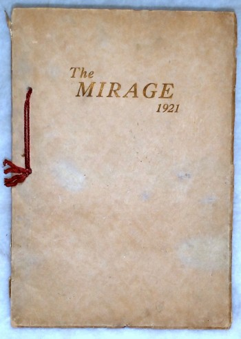 Image for The Mirage, Volume 2, 1921