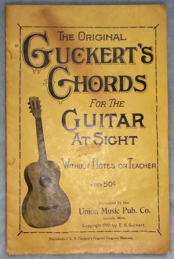 Image for The Original Guckert's Chords for the Guitar at Sight, Without Notes or Teacher