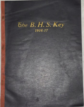 Image for The B. H. S. Key, Vol. 1, No. 3 - 8 (December, 1916 - May, 1917)