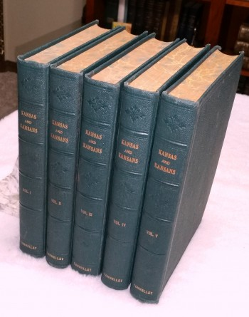 Image for A Standard History of Kansas and Kansans (Five Volumes)