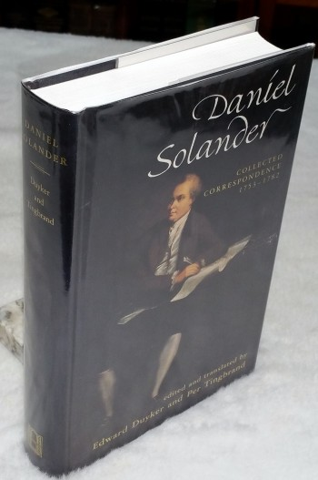 Image for Daniel Solander:  Collected Correspondence 1753 - 1782