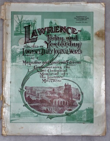 Image for Lawrence- Today and Yesterday