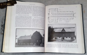 Image for Farm Building: A Compilation of Plans for General Farm Barns, Cattle Barnds, Dairy Barns, Horse Barns, Sheep Folds, Swine Pens, Poultry Houses, Silos, Feeding Racks, Farm Gates, Sheds, Portable Fences, Concrete Construction, Hand Devices, Etc.