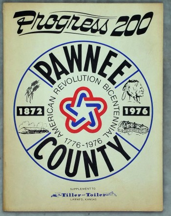 Image for Progress 200:  Pawnee County (1872 - 1976), American Revolution Bicentennial 1778 - 1976