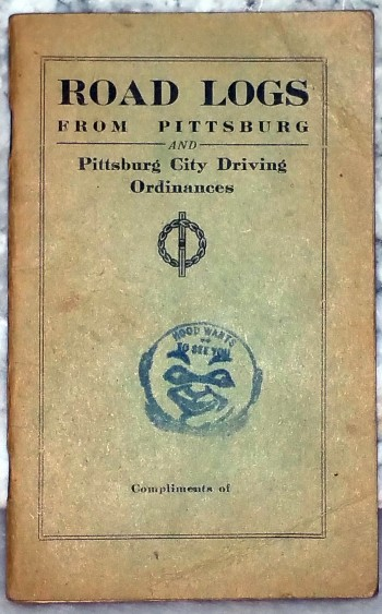 Image for Road Logs from Pittsburg [Kansas] and Pittsburg City Driving Ordinances