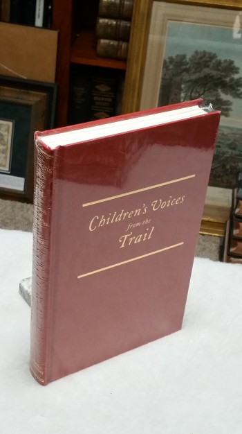 Image for Children's Voices from the Trail: Narratives of the Platte River Road (The American Trails Series)