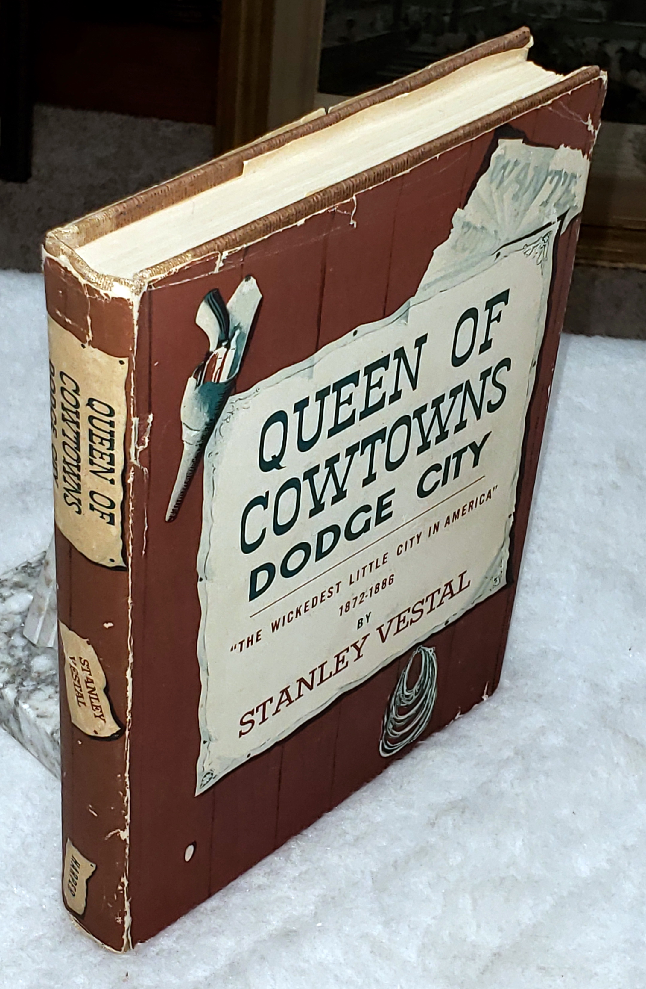 "Image for Queen of Cowtowns:  Dodge City ""The Wickedest Little City in America"" 1872-1886"