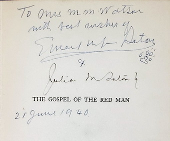 Image for The Gospel of The Red Man:  An Indian Bible