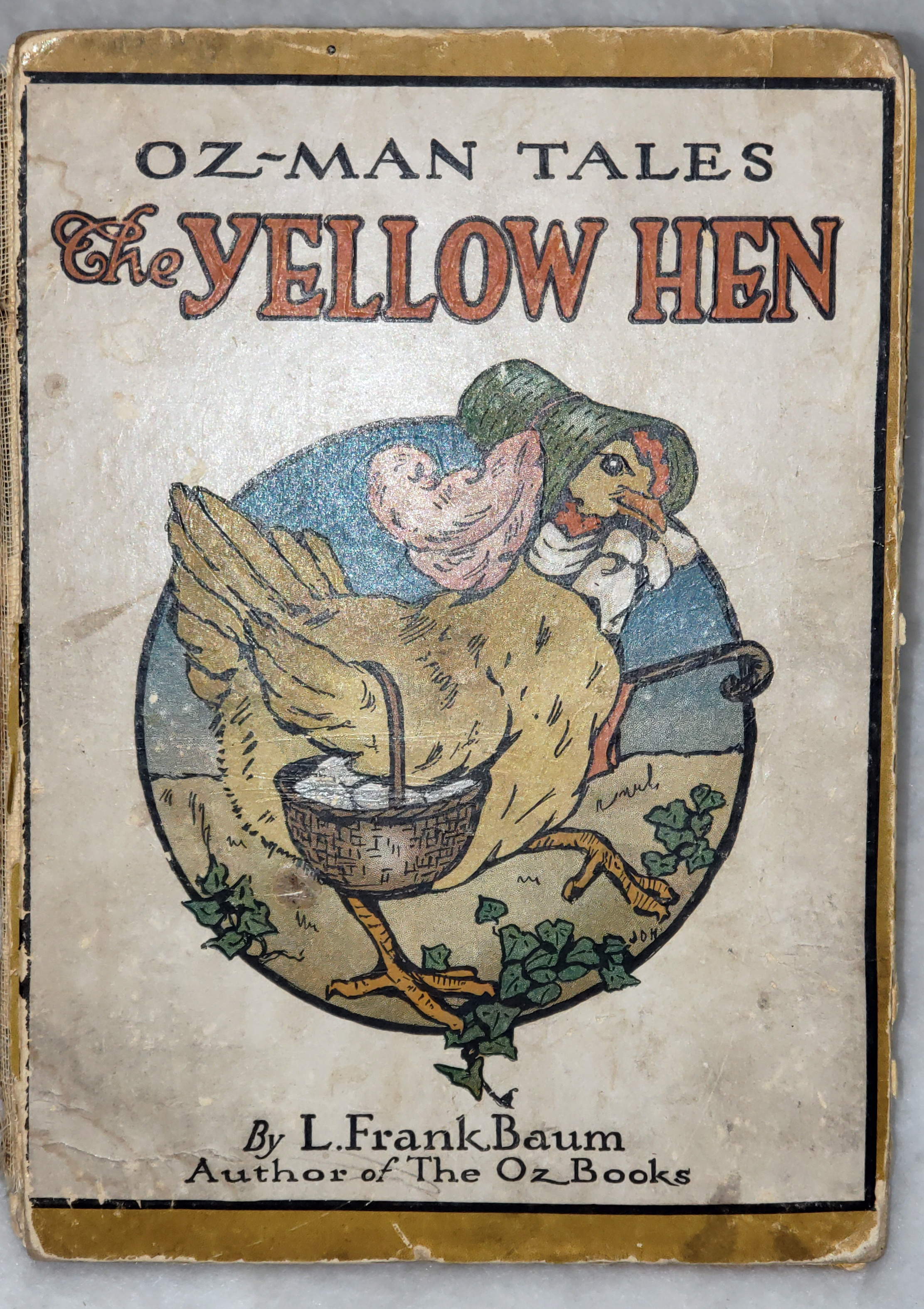 Image for The Oz-Man Tales:  The Yellow Hen and Other Stories