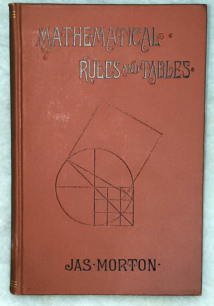 Image for A Collection of Mathematical Rules and Tables: Including Interest, Equation of Payment, Mensuration, Geometry and Trigonometry, Rules for Calculating Diameter, Circumference, Area and Squaring the Circle, Together with The Metric System...