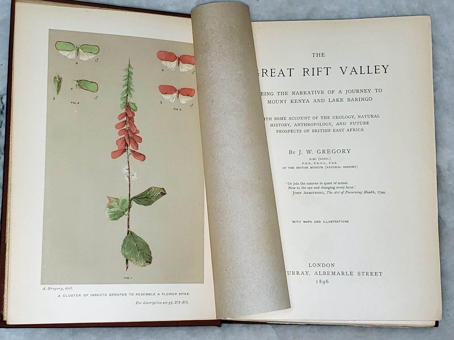 Image for The Great Rift Valley:  Being the Narrative of a Journey to Mount Kenya and Lake Baringo with Some Account of the Geology, Natural History, Anthropology, and Future Prospects of British East Africa