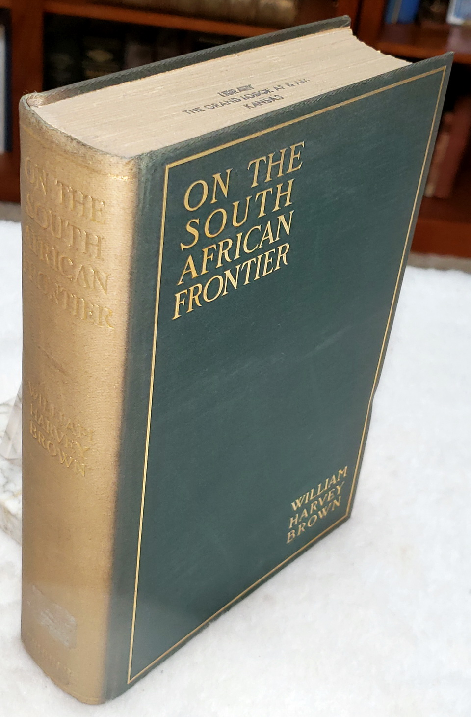 Image for On the South African Frontier:  The Adventures and Observations of an American in Mashonaland and Matabeleland
