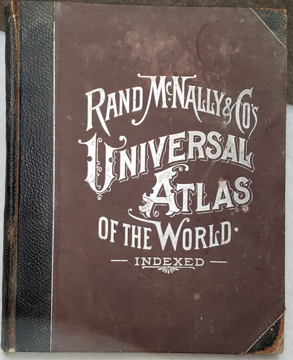Image for Rand, McNally & Co.'s Universal Atlas of the World...