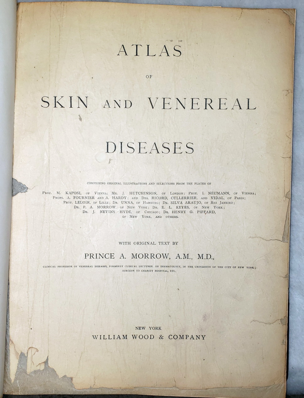 Image for Atlas of Skin and Venereal Diseases
