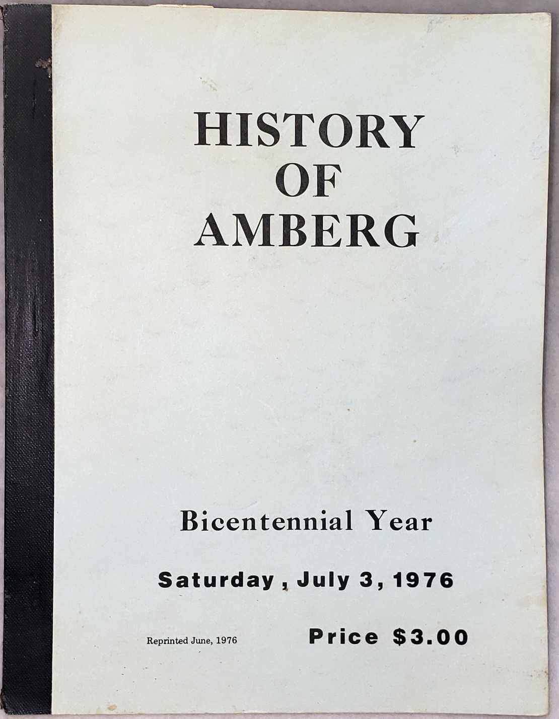 Image for The History Of Amberg