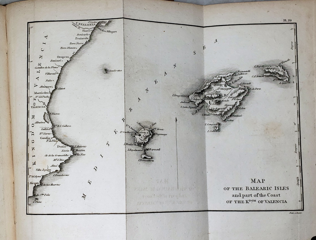 Image for A View of Spain; Comprising A Descriptive Itinerary, of Each Province, and a General Statistical Account of the County...  (Five Volumes)