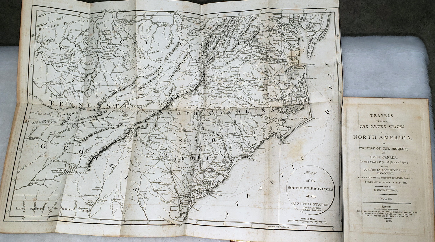 Image for Travels Through the United States of North America, the Country of the Iroquois, and Upper Canada, in the Years 1795, 1796, and 1797 (Four Volumes)
