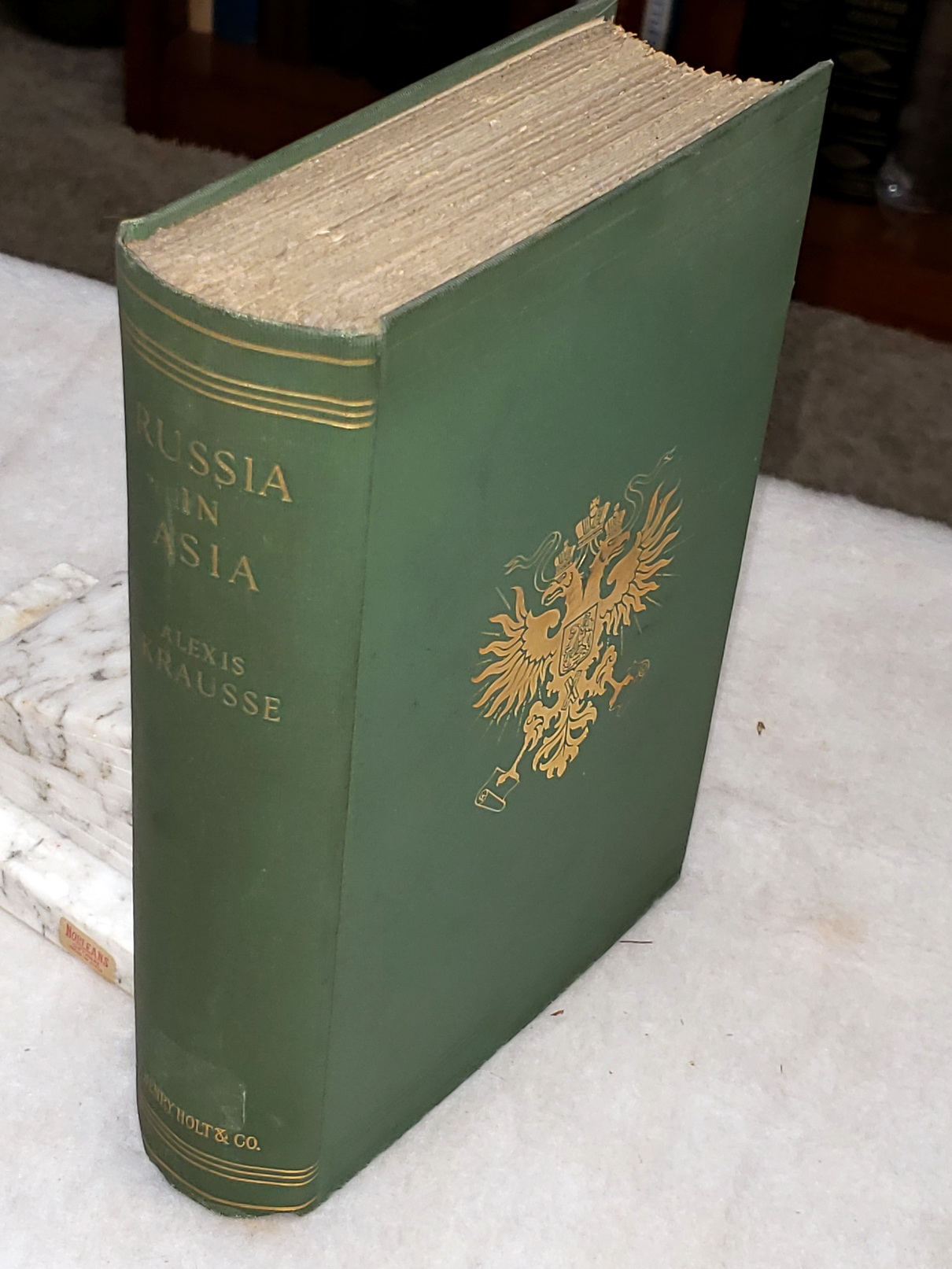 Image for Russia in Asia:  A Record and Study 1558-1899