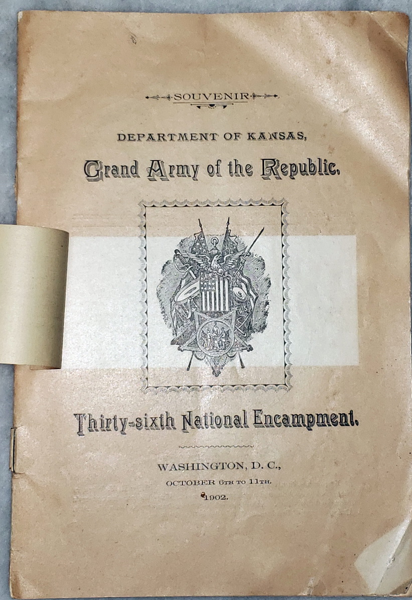 Image for Souvenir:  Department of Kansas, Grand Army of the Republic, Thirty-sixth National Encampment