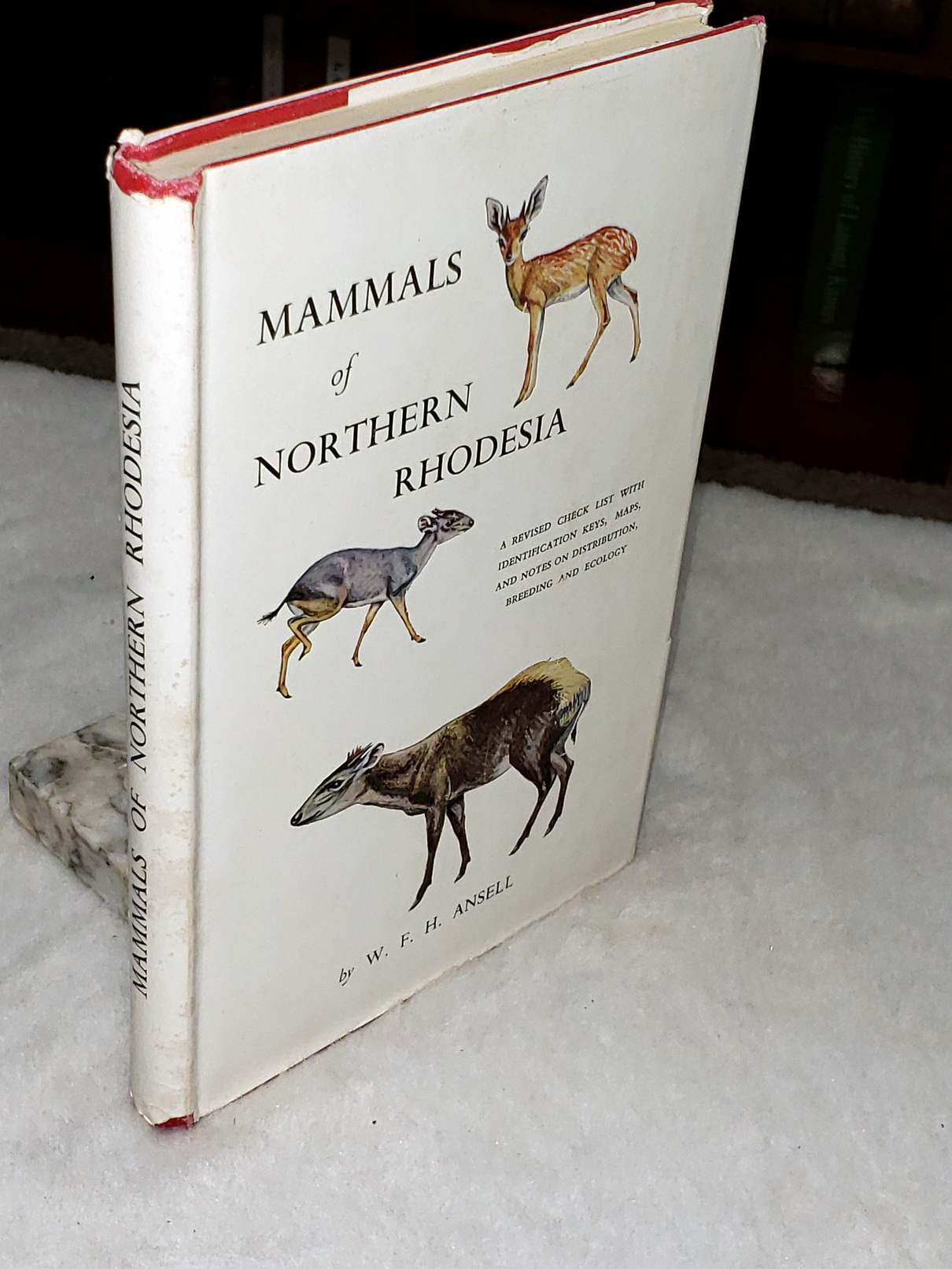 Image for Mammals of Northern Rhodesia:  A Revised Check list with Keys, notes on Distribution, Range Maps, and summaries of breeding and Ecological Data