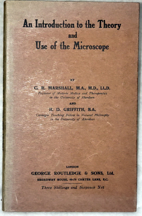 Image for An Introduction to the Theory and Use of the Microscope