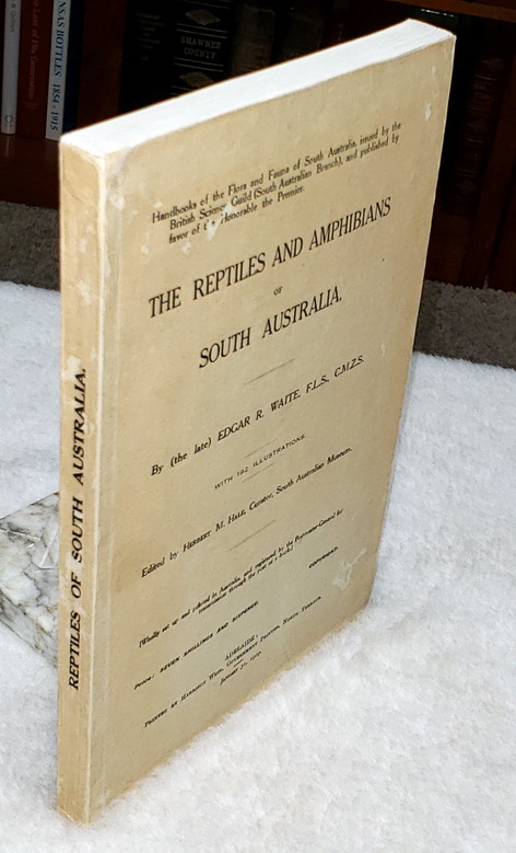 Image for The Reptiles and Amphibians of South Australia