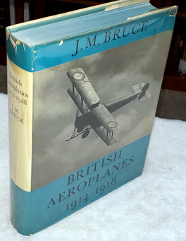 Image for British Aeroplanes 1914-18