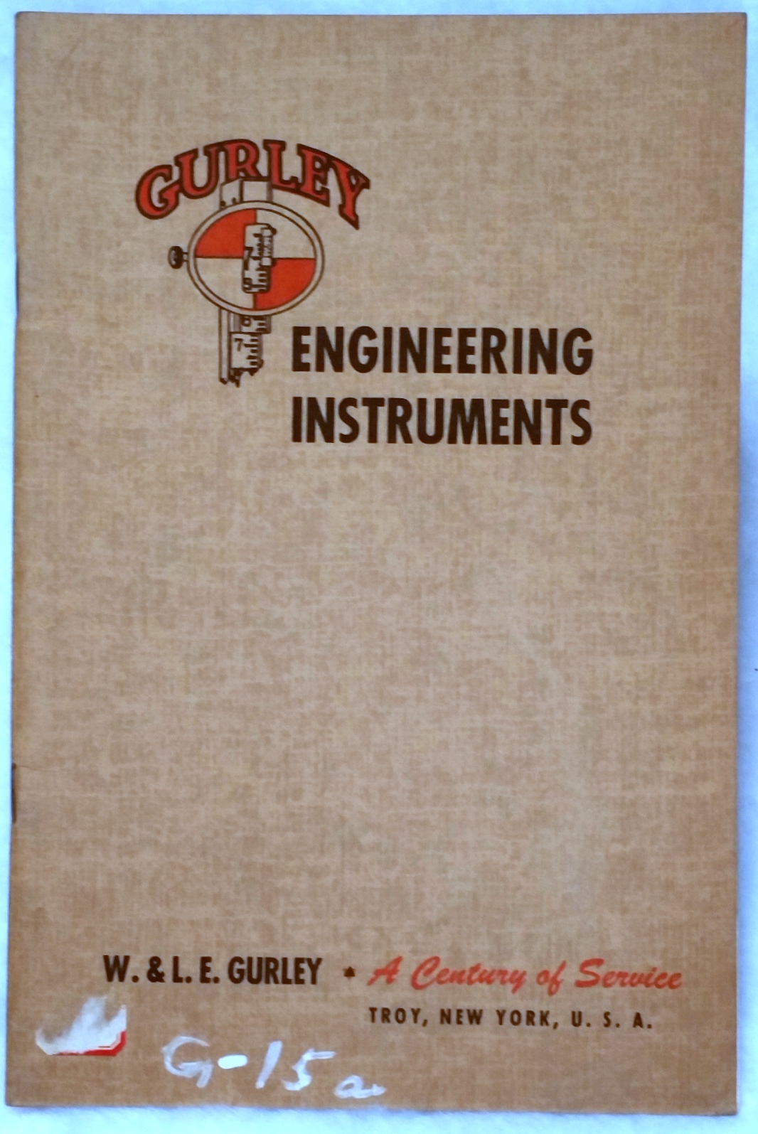 Image for Gurley Engineering Instruments, Bulletin No. 50
