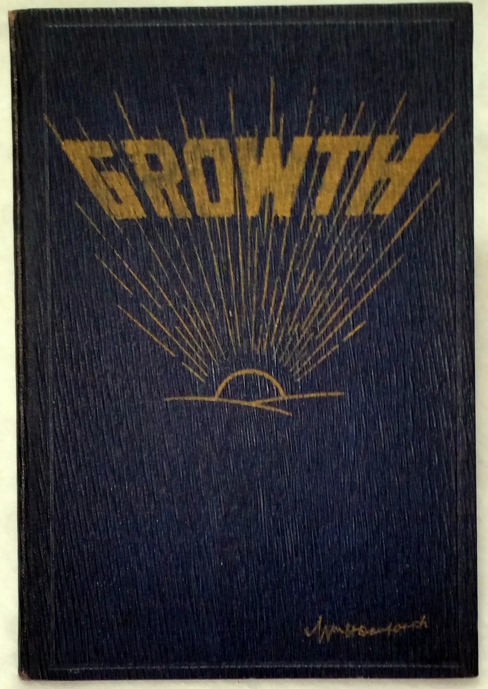 "Image for Growth (Volume VI in the Series ""President Danforth's Monday Morning Messages"")"