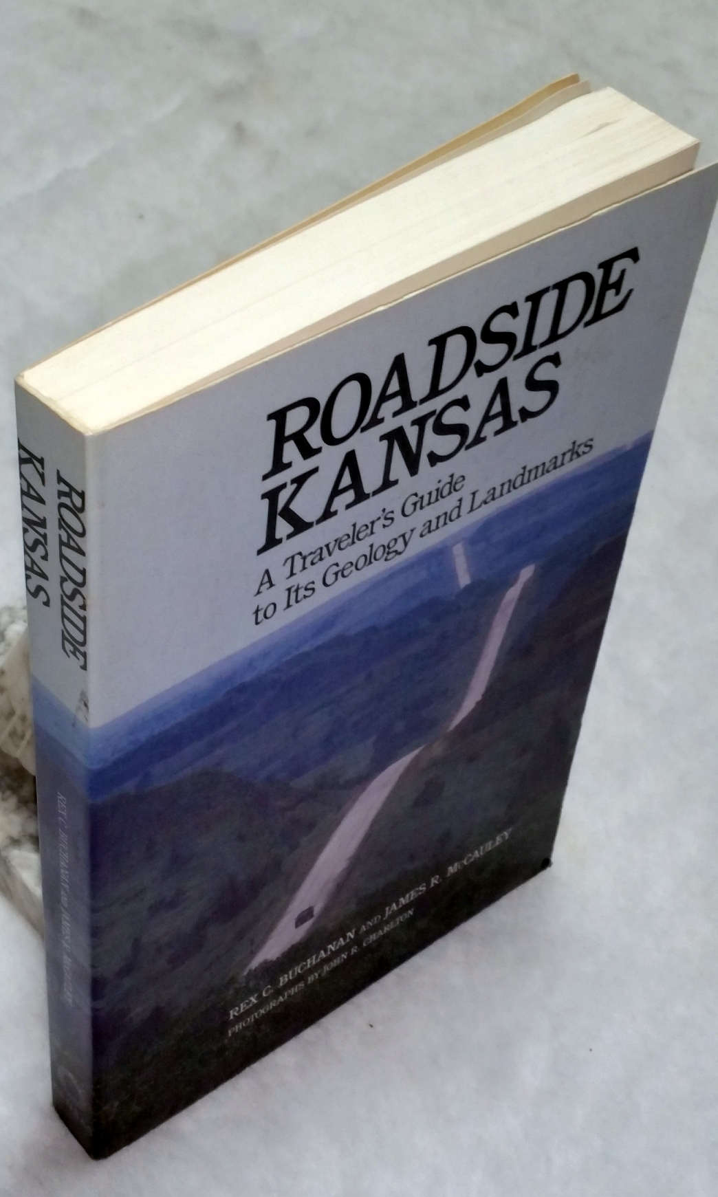 Image for Roadside Kansas:  A Traveler's Guide to Its Geology and Landmarks