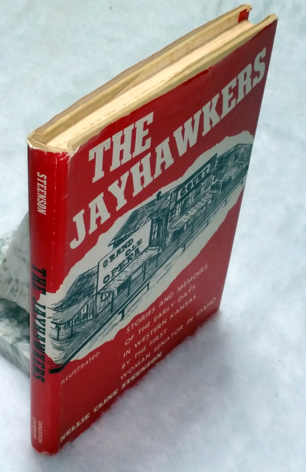 Image for The Jayhawkers: Stories and Memoirs of the Early Days in Western Kansas