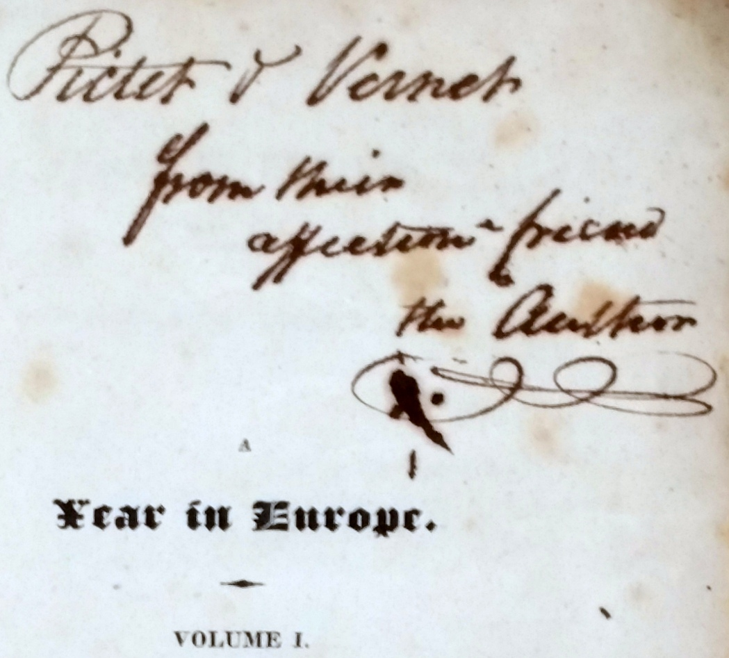Image for A Year in Europe.  Comprising a Journal of Observations in England, Scotland, Ireland, France, Switzerland, The North of Italy, and Holland.  In 1818 and 1819 (Two Volumes)